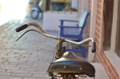 Handlebar of A Bicycle Royalty Free Stock Images
