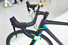 Handlebar sport road bike Royalty Free Stock Image