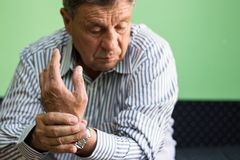Handleden smärtar arkivfoton