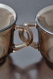 Handles cups Stock Images