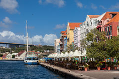Handleshank waterfront Views around Curacao Caribbean island Stock Photos