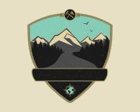 Adventure Travel Logo Emblem Royalty Free Stock Photos