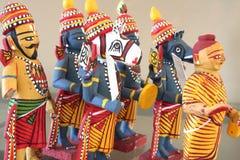 Handliche Fertigkeiten des hinduistischen Gottes Stockfotografie