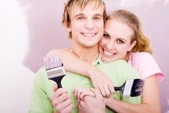 Handliche Paare Stockbild