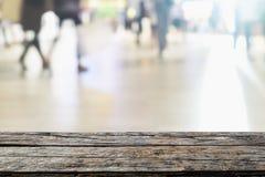 Handling för suddighet för bakgrund för stadsfolk och abstrakt begrepp Arkivfoto