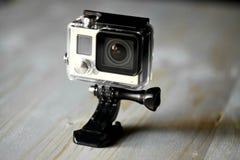 Handlingkamera royaltyfria foton