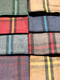 Handloom Blankets Stock Photo