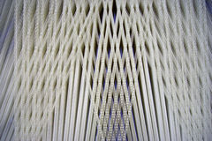Handloom de tissage Photos stock