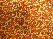 Handloom Fabric. A background of a fabric made by the traditional Indian handloom method Royalty Free Stock Photo