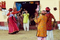 Handloom Fair with Folk Performances Royalty Free Stock Photos