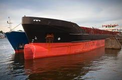 Handlowów cumujący statki Obraz Royalty Free
