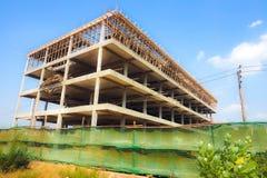 Handlowa budynków 4 podłoga budowa zdjęcia stock