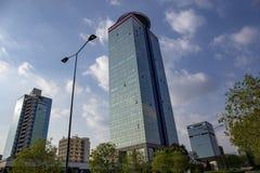 Handlowi budynki w Brescia fotografia royalty free
