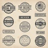 Handlowi znaczki Zdjęcia Royalty Free