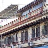Handlowy budynek w miasteczku przy Nakhon Ratchasima, Tajlandia Obrazy Stock