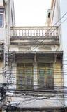 Handlowy budynek w miasteczku przy Nakhon Ratchasima, Tajlandia Fotografia Stock