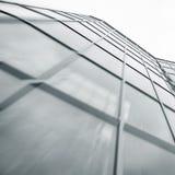 Handlowy budynku drapacz chmur robić szkło Fotografia Stock