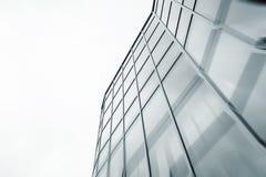 Handlowy budynku drapacz chmur robić szkło Zdjęcia Stock