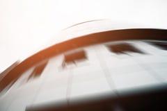 Handlowy budynku drapacz chmur robić szkło Zdjęcie Royalty Free