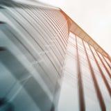 Handlowy budynku drapacz chmur robić szklana powierzchowność Zdjęcia Royalty Free
