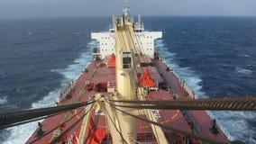 Handlowy naczynie trwający w morzu obrazy royalty free