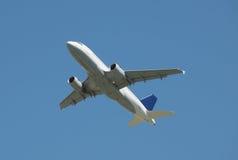 Handlowy samolot zdjęcia royalty free