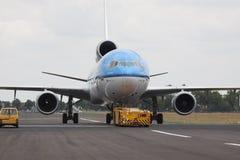 Handlowy samolot Zdjęcia Stock
