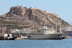 Handlowy statek Zdjęcia Royalty Free