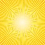 Handlowy sunburst tło. Zdjęcie Royalty Free