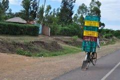 Handlowy transport w Kenja Zdjęcia Royalty Free