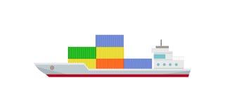 Handlowy zbiornika statek z zbiornikami Zdjęcia Stock
