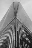 Handlu światowego centrum czarny i biały na Maju 16, 2015 Obraz Stock