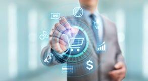 Handlu elektronicznego Cyfrowego marketingu i sprzeda?y technologii Online Robi zakupy biznesowy poj?cie zdjęcia royalty free