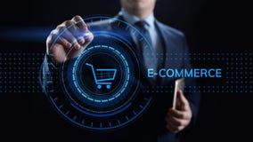 Handlu elektronicznego Cyfrowego marketingu i sprzeda?y technologii Online Robi zakupy biznesowy poj?cie zdjęcie stock