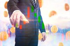 Handlu elektronicznego i handlu pojęcie Obraz Stock