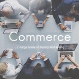 Handlu konsumeryzmu zakupy sprzedawania handlu detalicznego pojęcie Zdjęcia Royalty Free