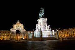 handlu Lisbon Portugal kwadrat Zdjęcia Stock