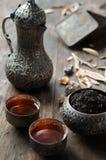 handluje porcelany świeżego porcelanowe truskawek herbatę razem Obraz Stock