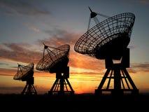 handluje satelity Zdjęcie Stock
