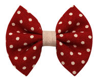 Handmade łęku krawat odizolowywający Zdjęcia Royalty Free