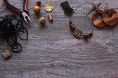 Handmade аксессуары Стоковые Изображения RF