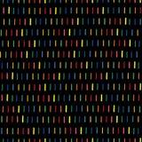 Handmade безшовная текстура - брошенная линия в цветах радуги Улучшите как предпосылка для поздравительных открыток, визитных кар иллюстрация вектора