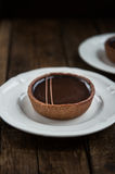 Handmade богатые Tartlets шоколада стоковое фото