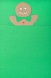 Человек пряника Стоковое Изображение RF