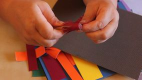 Handmade бумажные цветки quilling Стоковая Фотография RF