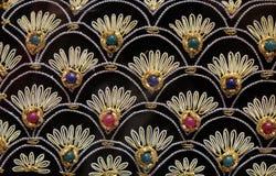 Handmade вышитые подушки стоковая фотография