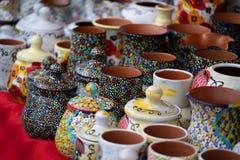 Handmade гончарня стоковое фото