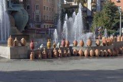 Handmade гончарня Стоковые Фотографии RF