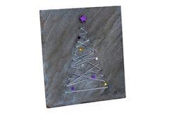 Handmade доска рождество моя версия вектора вала портфолио стоковая фотография rf