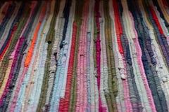 Handmade заплатка в красных цветах стоковое фото rf